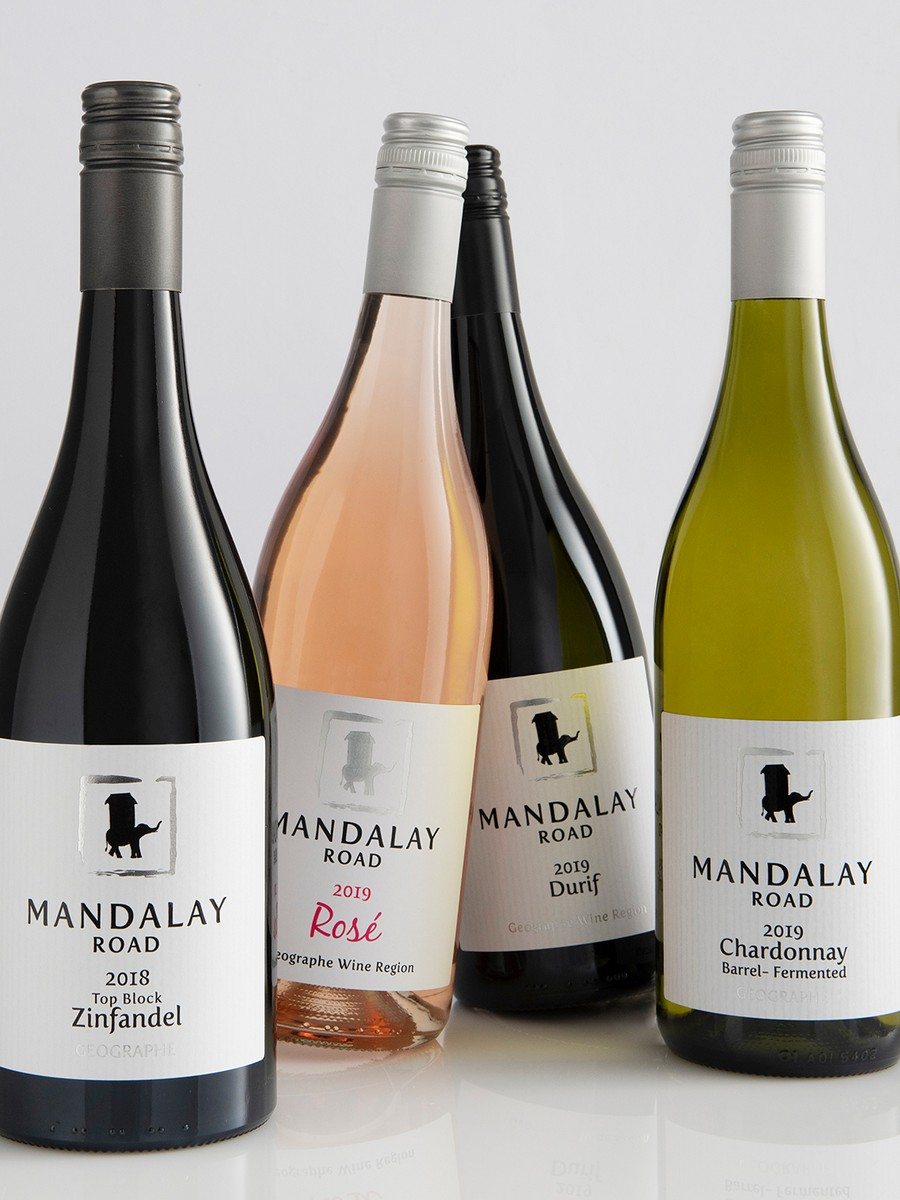 Mandalay Road wine assortment